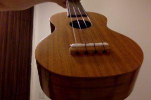 弦をブリッジの溝に引っ掛けるタイプ
