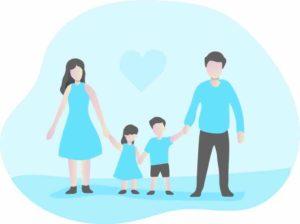 自分と家族の関係