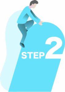 STEP2.検討期間や検討範囲を決める