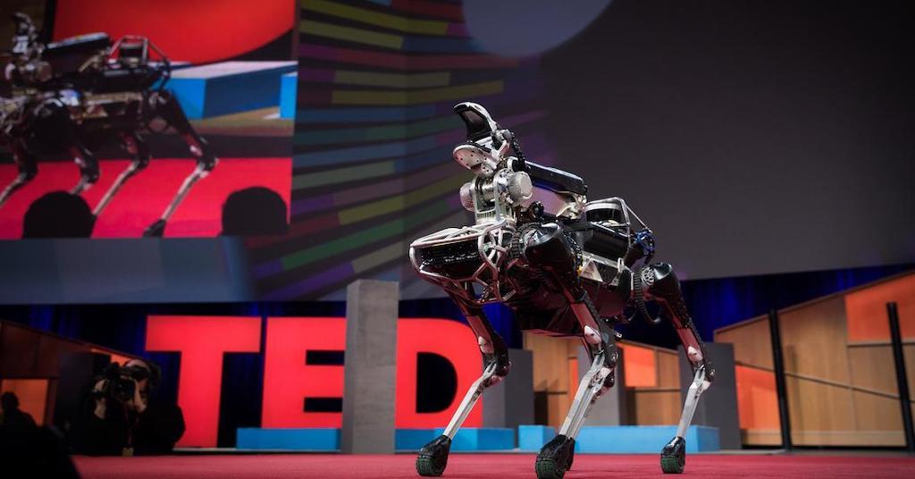 【TEDで英語学習】世界一のロボットのボストンダイナミクス社とは?ついでにサクッと学ぼう!