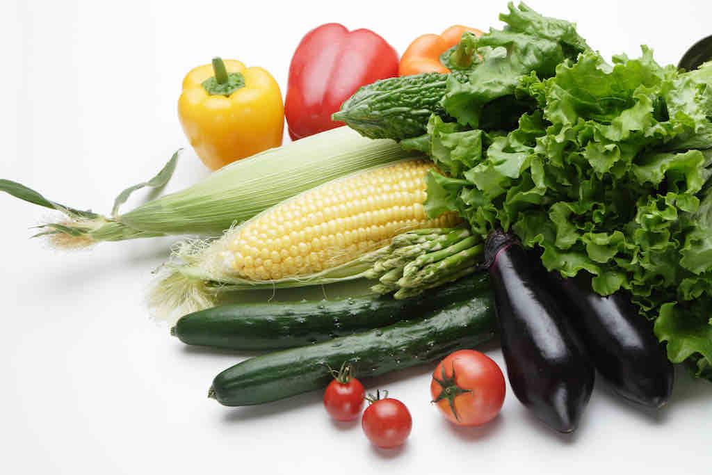 旬で上質な食材たち