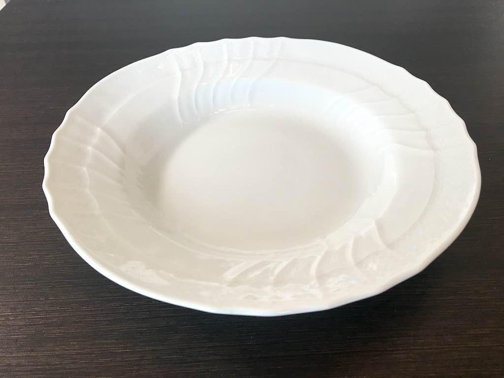 ベッキオ・ホワイトのスーププレート