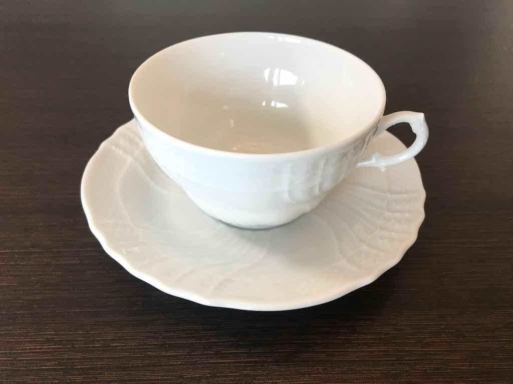 ベッキオ・ホワイトのティーカップ